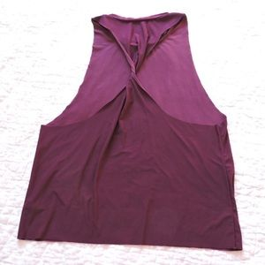 Onzie eagle tank in plum